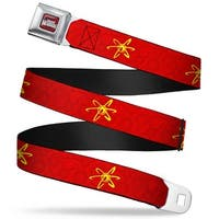 The Adventures Of Jimmy Neutron Logo Full Color Red Blues Jimmy Neutron Seatbelt Belt