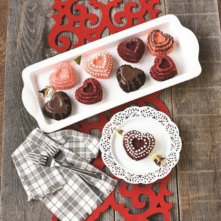 Link to Nordic Ware Tiered Heart Cakelet Pan Similar Items in Bakeware