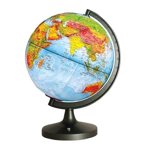Dual Cartography Led Illuminated Globe
