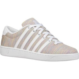 K-Swiss Women's Court Pro II T CMF Sneaker Rainbow/White