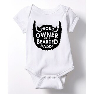 Proud Owner Bearded Daddy - Infant One Piece