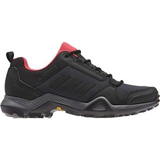 adidas Women's Terrex AX3 Hiking Shoe Carbon/Black/Active Pink