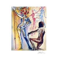 ''Ballet of Flowers'' by Salvador Dali Museum Art Print (24 x 19 in.)