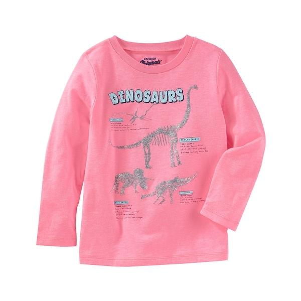 ff1edc157 Shop OshKosh B'gosh Baby Girls' Pink Dinosaur Shirt - Free Shipping On  Orders Over $45 - Overstock - 20982708
