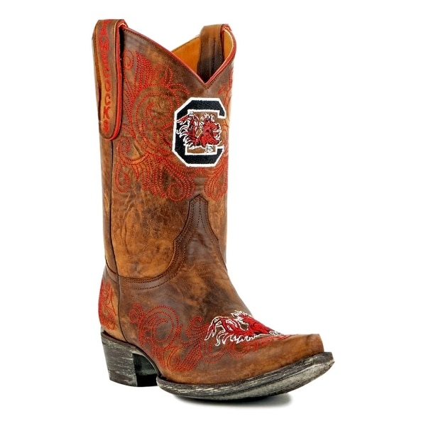 Gameday Boots Womens College Team South Carolina Brass