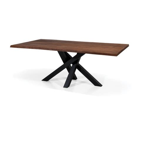 OMGA Dining Table - Whiskey/Graphite