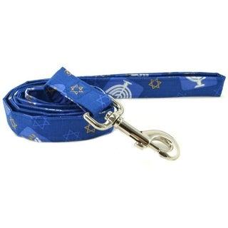 Hanukkah Dog Leash - Size