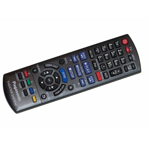 OEM Panasonic Remote Control Originally Shipped With: SC-BTT268, SCBTT268, SC-BTT270, SCBTT270, SC-BTT273, SCBTT273