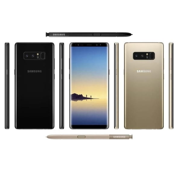 shop samsung galaxy note 8 64gb unlocked gsm lte android phone w dual 12 megapixel camera. Black Bedroom Furniture Sets. Home Design Ideas