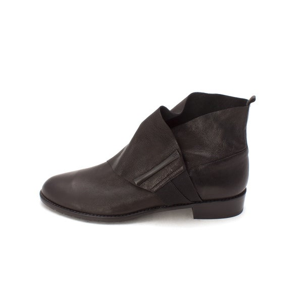 Stuart Weitzman Womens BARTOC Leather Almond Toe Ankle Fashion Boots - 9