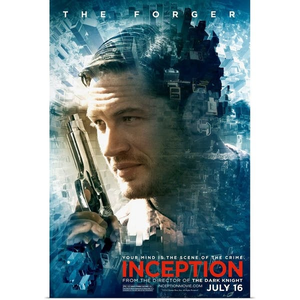 Shop Black Friday Deals On Inception Movie Poster Poster Print Overstock 24129829