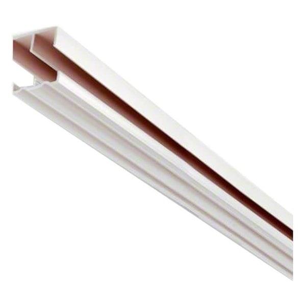 Shop Knape And Vogt P2419 6 72 Long Sliding Cabinet Door Track N