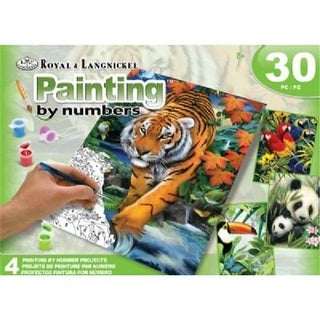Alvin AVSPBN-209 Paint By Number, Jungle Box Set