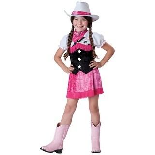 Girls Cowgirl Cutie Costume