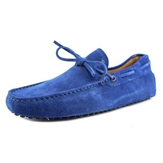 Tod's New Laccetto Occh New Gommini 122 Moc Toe Suede Loafer