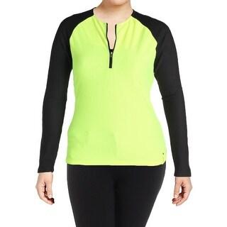 Lauren Ralph Lauren Womens Shirts & Tops Colorblock 1/2 Zip