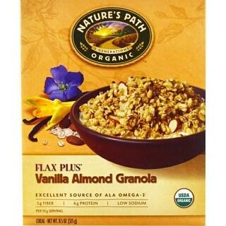 Nature's Path - Flax Plus Vanilla Almond Granola ( 12 - 11.5 oz boxes)