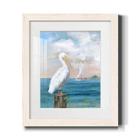 Pelican View I-Premium Framed Print - Ready to Hang