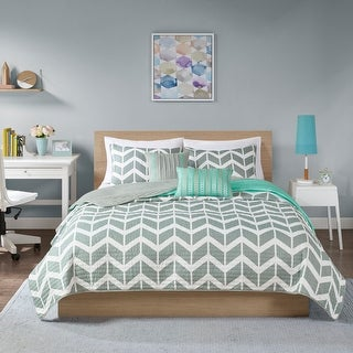 Link to Ella 5-piece Coverlet Set by Intelligent Design Similar Items in Duvet Covers & Sets