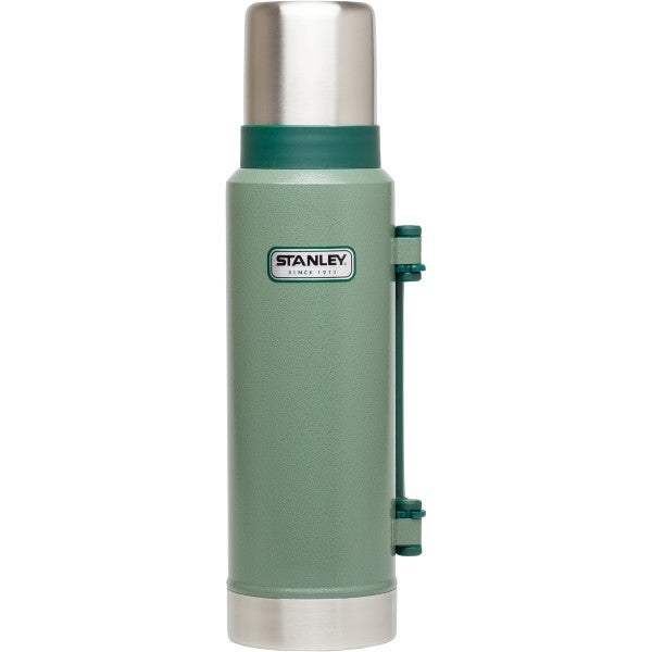 Stanley Classic Ultra Vacuum Bottle, XL 1.4Qt - hammertone green