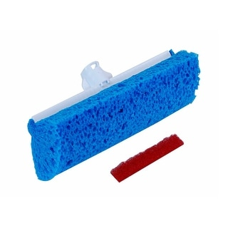 Quickie 05724/3 Automatic Roller Mop Refill with Microban, 9""