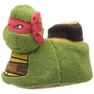 Nickelodeon Boys Ninja Turtle Polyester Novelty Slippers