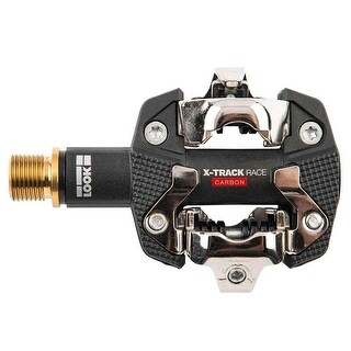 """Look Cycle X-Track Race Carbon Ti FOB Clipless 9/16"""" Pedals"""