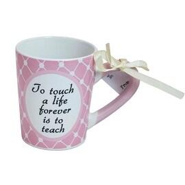 Enjoy Life Ceramic Mug for Teachers