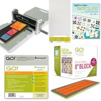 AccuQuilt GO! Ready. Set. GO! Ultimate Fabric Cutting System