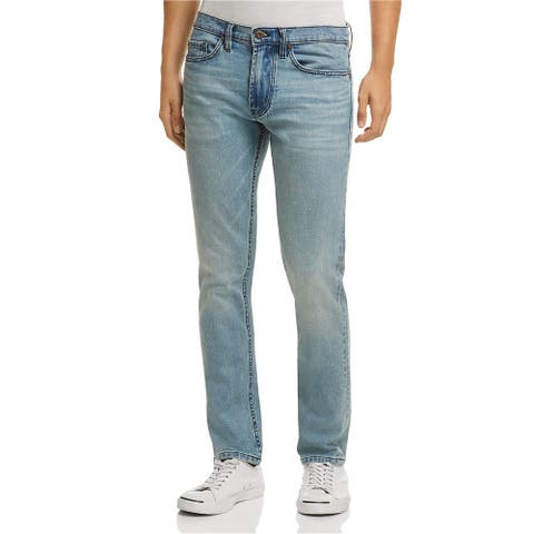 Blank NYC Mens Lagoon Slim Fit Jeans, Blue, 30W x 30L