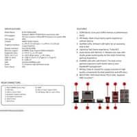 Msi Motherboard B350 Amd Am4 B350 Ddr4 Pci Express Atx