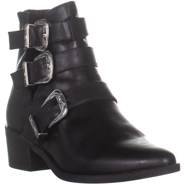 16254c67a2ed Shop madden girl Cecilyy Pointed Toe Ankle Boots, Black Pari - On ...