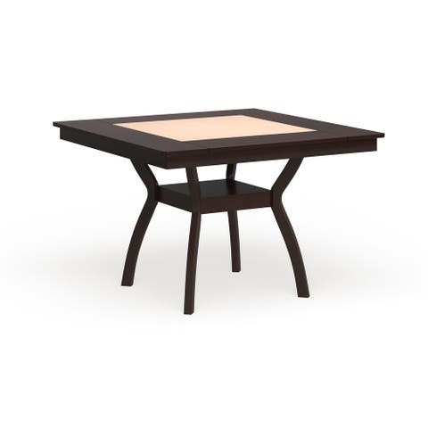 Furniture of America Dionne Contemporary Dark Cherry Counter Height Dining Table