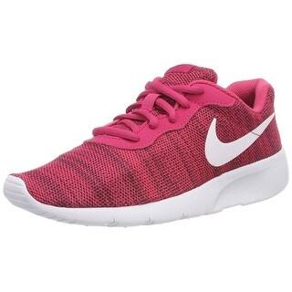 Nike Kids Tanjun (Gs) Rush Pink/White Red Crush Running Shoe 5.5 Kids Us
