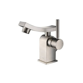 Kraus KEF-14301 Single Hole Bathroom Faucet from the Unicus Collection