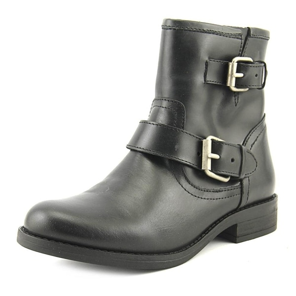 Steve Madden Patent Leather Round-Toe Boots buy cheap explore buy cheap order Inexpensive sale online kHVASk