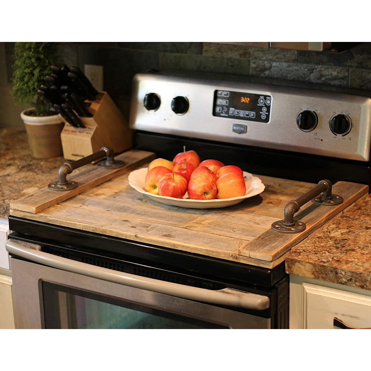 Noodle Board Stove Top Cover On Sale Overstock 29761232