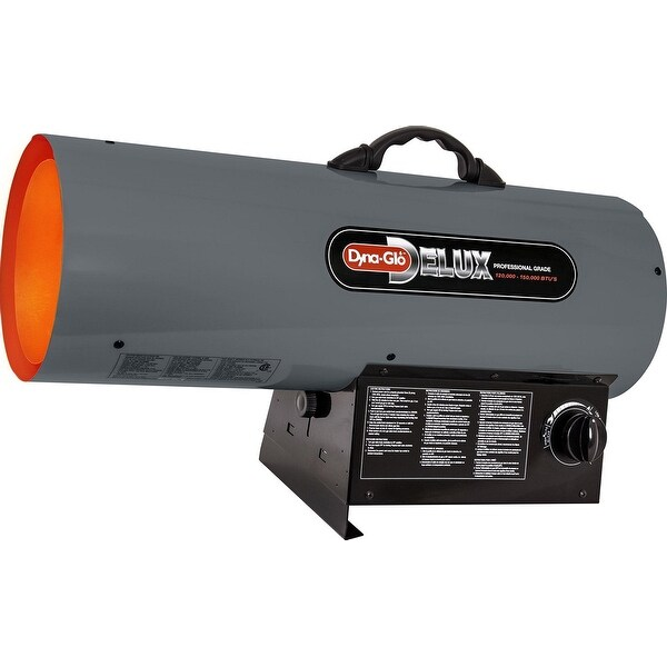 Dyna-Glo Delux RMC-FA150DGD 120000 - 150000 BTU LP Forced Air Heater - grey