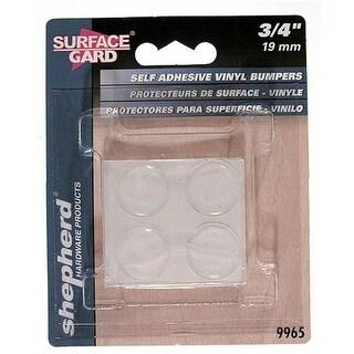 Shepherd 9965 8 Count .75 in. Clear Self Adhesive Vinyl Bumpers
