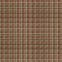 Brewster CTR09163 Gunner Brick Heritage Plaid Wallpaper