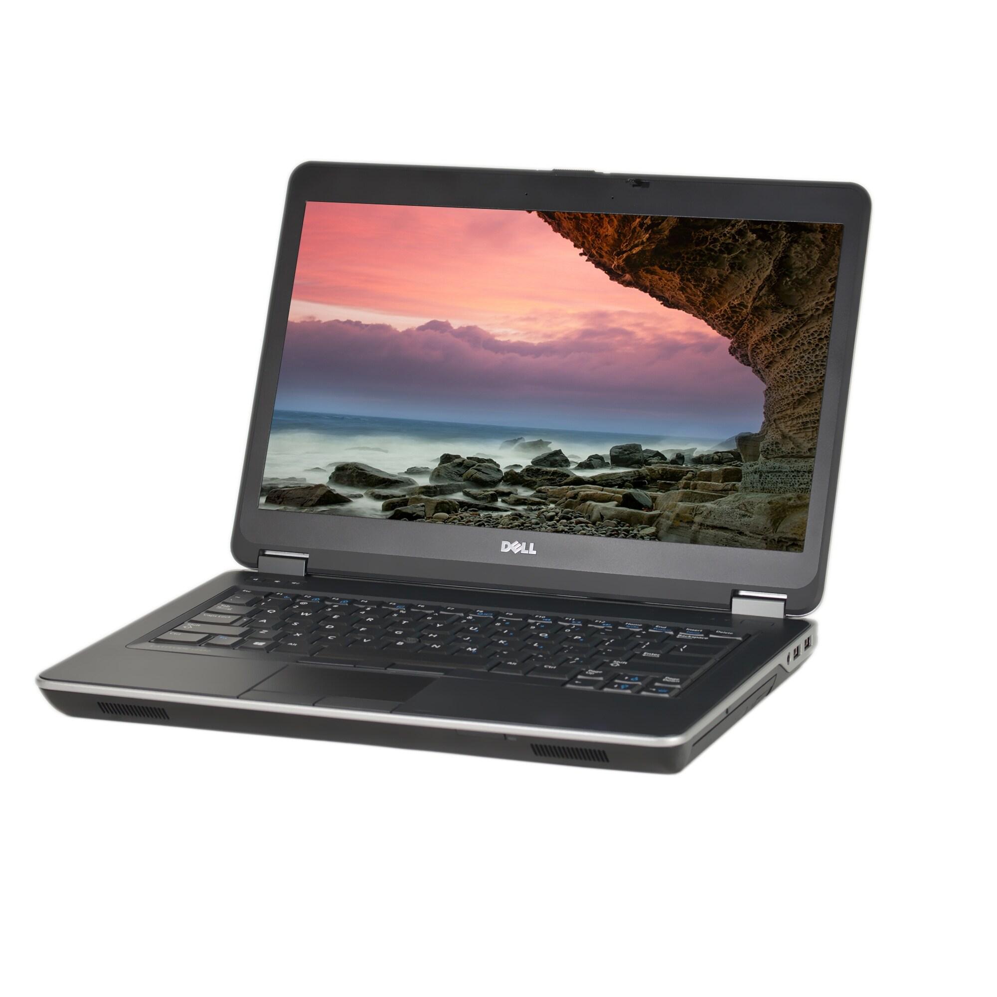 Dell Latitude E6440 Core i7-4600M 2 9GHz 4th Gen CPU 8GB RAM 500GB HDD  Windows 10 Pro 14-inch Laptop (Refurbished)
