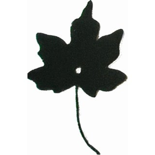 "Maple leaf Metal Silhouettes - Size - 3"" - Color - Black"