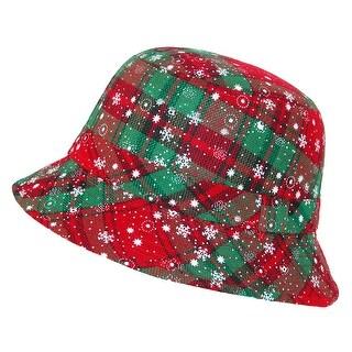 Howard's Women's Christmas Print Bucket Hat