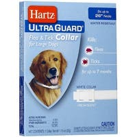 "Hartz Ultraguard Flea & Tick Dog Collar, Large 26"" 1 ea"
