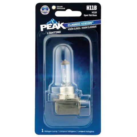 Peak H11B-BPP Classic Vision Halogen Automotive Bulb, 13.2 Volt