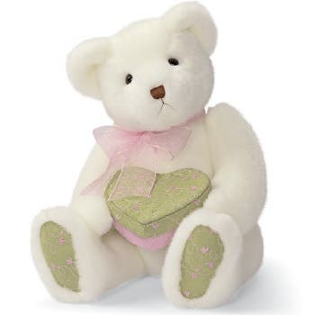 Gemma Plush Teddy Bear and Gift Box 11 Inch - White