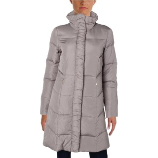 Ellen Tracy Womens Coat Down Quilted