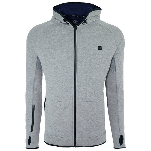 322454b4c Shop Body Glove Men's Full Zip Fleece Hoodie - Free Shipping Today -  Overstock - 28379001