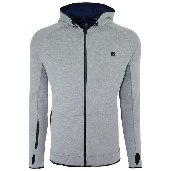 Shop Bg Men S Full Zip Fleece Hoodie On Sale Free