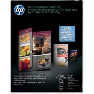 """Hewlett Packard C7020A HP Brochure/Flyer Paper - Letter - 8.50"""" x 11"""" - 48 lb Ba"""